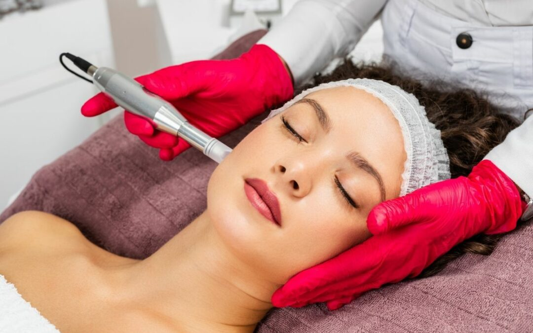 Microneedling At A Med Spa